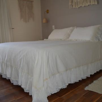 Cobertor de Cama - Volados...