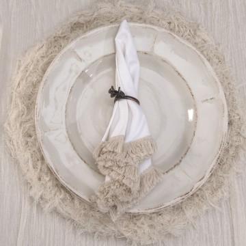 Plato de Sitio - Cotton...